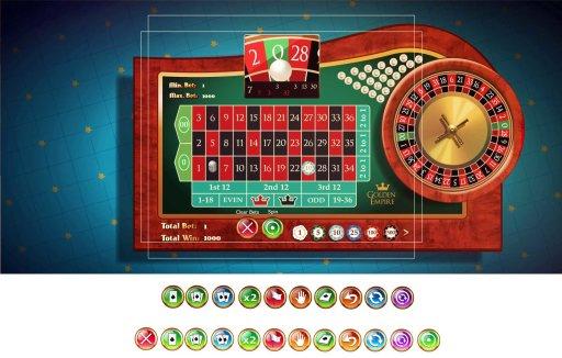 cro_golden_roulette_buttons roulette full ui elements wictor hattenbach