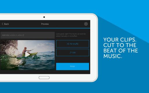 edit video & sound - marketing screen wictor hattenbach