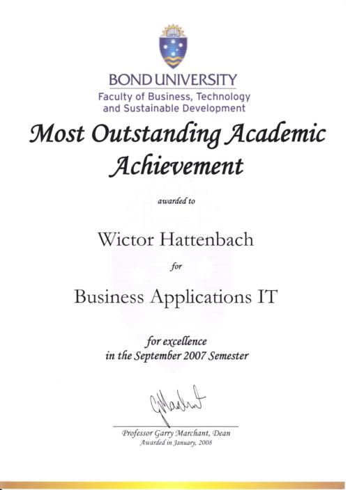 business applications IT wictor hattenbach