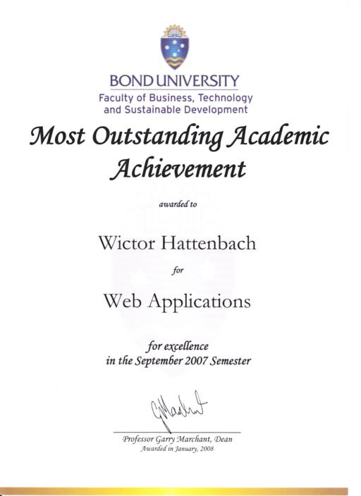 web applications wictor hattenbach