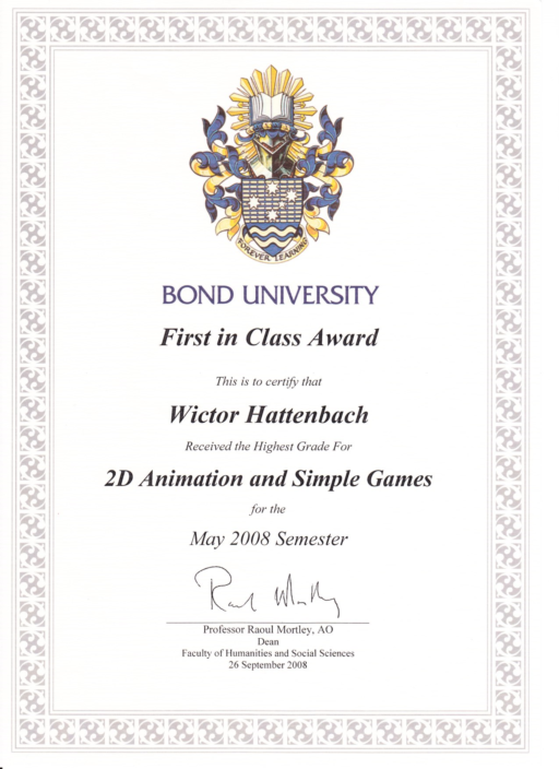 2D animation & simple games wictor hattenbach
